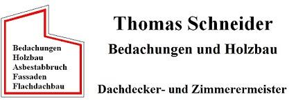 Dachbau Schneider Logo kontakt fassadenbau rund ums dach schutzmaßnahmen